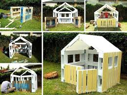 Build A Backyard Fort 26 Highly Ingenious Cost Efficient Pallet Diy Projects For Kids