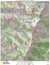 Ruby Map Ruby Mountain Trails Ruby Crest Trail Beta Maps And Photos