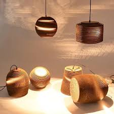 Paper Pendant Lights Graypants Cardboard Lamp Paper Pendant Lamp For Restaurant From