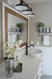 Lighting Ideas For Bathrooms by Farmhouse Master Bathroom Reveal Little Vintage Nest