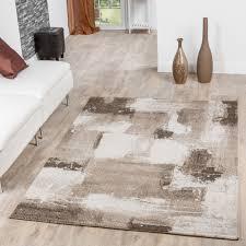 teppiche wohnzimmer moderner teppich wohnzimmer velours teppiche abstrakt beige creme