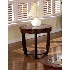 Cherry End Tables Gracewood Hollow Eddings Curved Cherry End Table Free