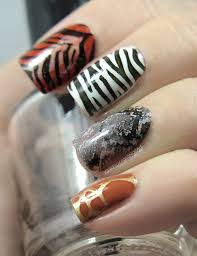 nail art the digit al dozen does continents african animal