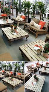 Patio Furniture Made Of Pallets - brilliant ideas of pallet wood furniture pallet ideas