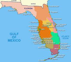 map of gulf coast florida map of florida gulf side my