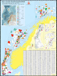 Norway World Map by The Norwegian Continental Shelf U201d Map Available For Download