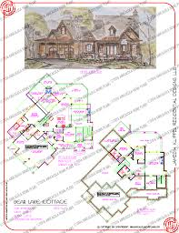 Craft Room Floor Plans Bear Lake Cottage U2014 Rustic Mountain Timber Frame Home Plans