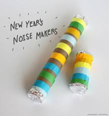 new years noise makers crafty kids new year s not so noisy noise makers classic play