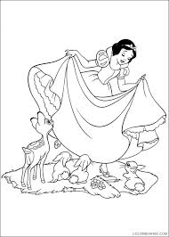 disney princess snow white coloring pages coloring4free