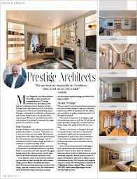 home design articles press articles and customer testimonials for prestige architects