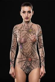 new spiderweb halloween bodysuit costume halloween