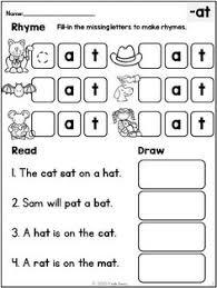 kindergarten reading passage kindergarten reading comprehension passages set 1 freebie