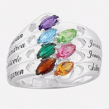 mothers infinity ring personalized rings walmart