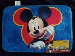 Disney Bath Rug Disney Mickey Mouse Memory Foam Bath Rug 889459077975 Ebay