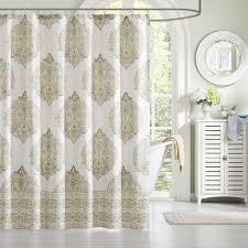 Unique Fabric Shower Curtains Cotton Shower Curtains Curtains Ideas