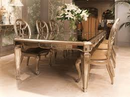 mirrored dining room furniture home design mirror top dining room table tables with regard to