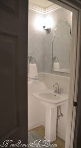 simple half bath reveal powder room home stories a to z plus we