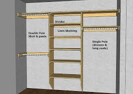 Making Wooden Shelves For Storage by Best 25 Closet Rod Ideas On Pinterest Industrial Closet Storage