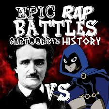 user blog drakan95 raven vs poe epic rap battles cartoons vs
