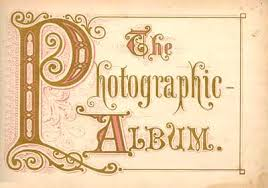 photograph album photograph album carte de visite