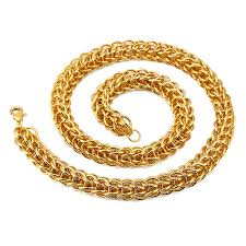 gold chain necklace sizes images Nyuk two size 12mm 8 7mm thick gold chain necklace fashion cool jpg
