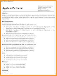resume templates free printable microsoft word email template free printable creative resume