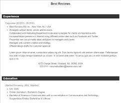 Best Free Resume Builders Best Free Online Resume Builder Software Best Reviews