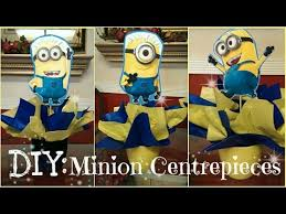 minions centerpieces diy despicable me minion centerpieces for birthday party