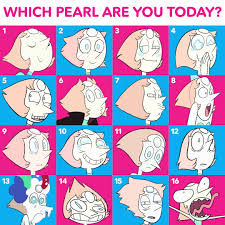 Every Meme Face - there is a pearl face for every mood steven universe know your meme