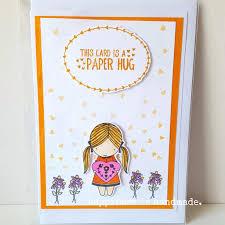 Www Handmade Au - paper hug greeting card happiness is handmade au