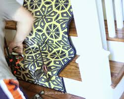 golden boys and me diy stair runner