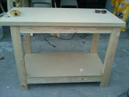 Woodworking Bench Plans Pdf by Ana White Kreg Jig Workbench Diy Projects