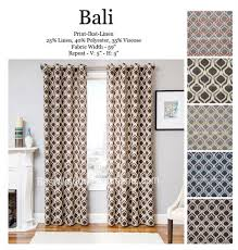 bali ikat curtain drapery panels best window treatments