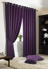 Purple Room Darkening Curtains Printed Blackout Curtains Plain Black Magenta White Darkening