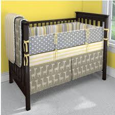 Grey And Yellow Crib Bedding 47 Best Colorful Cribs Images On Pinterest Child Room Babies