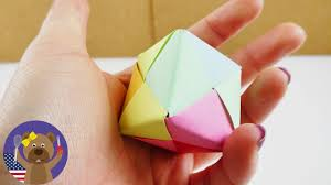 build your own paper dice origami instructions for kids easy