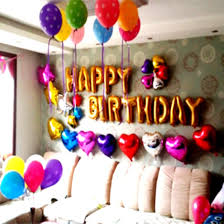 decorations for birthday party at home interior design ideas fresh