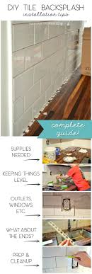 easy to install kitchen backsplash best 25 easy backsplash ideas on peel stick