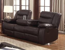 Power Leather Reclining Sofa by Sofas Magnificent Corner Fireplace Tv Stand Black Leather