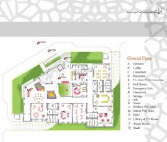 floor plan for kindergarten classroom aeccafe kindergarten in doha qatar by ark kassam architects