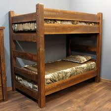 Timber Bunk Bed Wooden Bunkbeds These Bunk Beds Are Heavy On Quality But Light