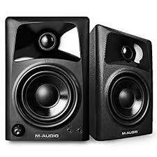 amazon black friday audio and speaker deals amazon com m audio av32 10 watt compact studio monitor speakers