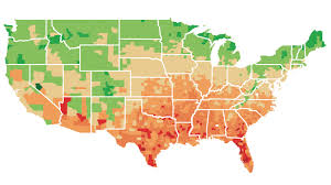 World Climate Map by Mapping The Potential Economic Effects Of Climate Change The Two