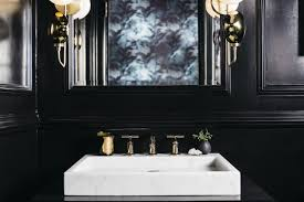 a moody vestibule and powder room for the 2017 san francisco