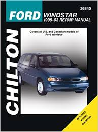 online car repair manuals free 1995 ford windstar engine control ford windstar 1995 through 2003 chilton s total car care repair