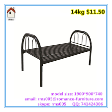 quality cheap price metal beds metal single bed b006