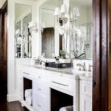 dark stained wood bath vanity design ideas