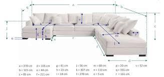 dimension canap dimension canap d angle 6 places avec test avis canap d angle 7