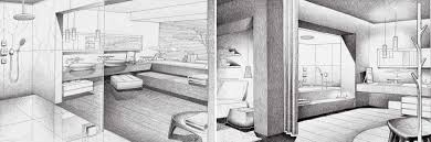 interior sketches jean marie massaud bathroom design sketch interior design ideas
