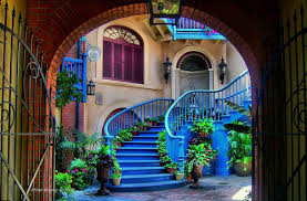 home blue blue decor garden home house image 419585 on favim com